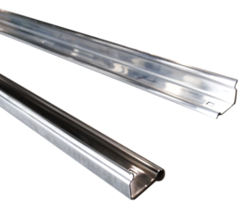 Angle strips  1954-59  Stainless Steel  Shortbed  ***