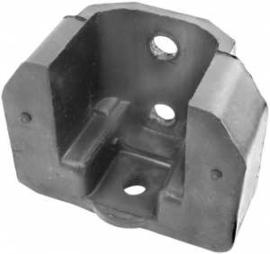 Achterkant motor ophang rubber. 1947-53