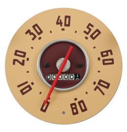 Snelheid Meter 80Mph  GMC