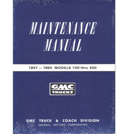Shop Manual - GMC  1947-54