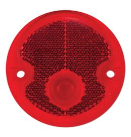 Achterlamp Lens   Plastic  Rood  1954
