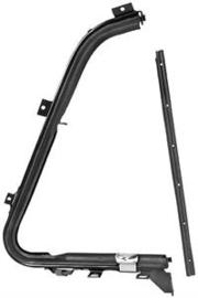 Ventilatie Raam frame met rubber.  1951-54  Rechts