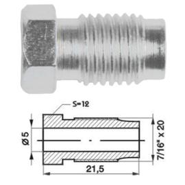 Wartel  7/16 x 20 unf   Ø 5 mm