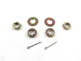 """Pinto/Mustang II Spindle Nut & Washer Kit 13/16""""-20"""
