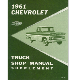 1961  Chevrolet Truck Shop Manual