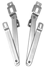 Fleetside tailgate hinges Set   1967-72