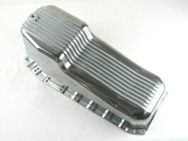 Aluminum.Finned Oil Pan. 1980-86  SBC 283-400.