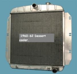 Radiator  1960-62.  Aluminium