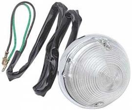 Parkeer Lamp.  1955-57  Helder lens