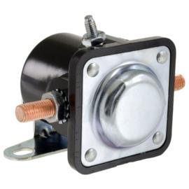 Starter solenoids contain heavy-duty copper contacts 6  Volt