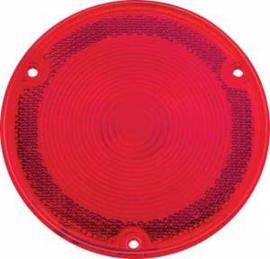 Achterlamp Lens  Fleetside  Plastic  Rood  1958-59