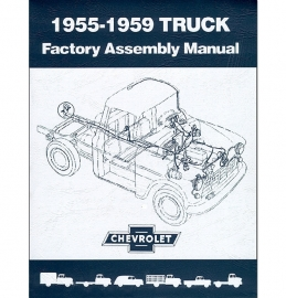 Factory Assembly Manual  1955-59