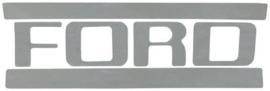 Ford Truck Tail Gate Lettering Decal.  1953-72.  black