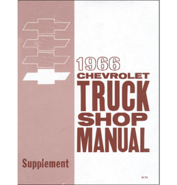 1966  Chevrolet Truck Shop Manual