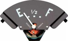 Benzine meter. 1951-53.  6 Volt