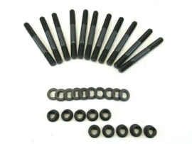 Small Block Chevy 327 350 2 Bolt 12 Point Main Stud Kit