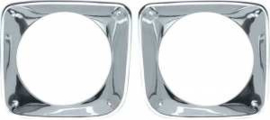 Headlight Bezels 1969-72  Chevrolet Truck