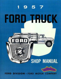Ford Truck Shop Manual.  1957