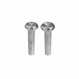 Door lock knobs.  Chrome  1967-72