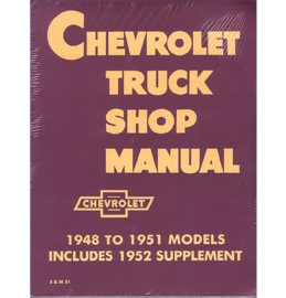 Shop Manual - Chevrolet  1947-53