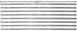 Bed Strips set.  1951-53  Short bed
