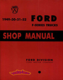 Ford Truck Shop Manual.  1949-52