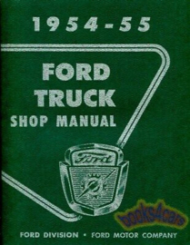 Ford Truck Shop Manual.  1954-55