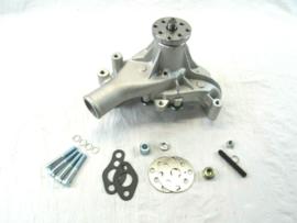 Small Block Chevy Aluminum Long Water Pump Satin