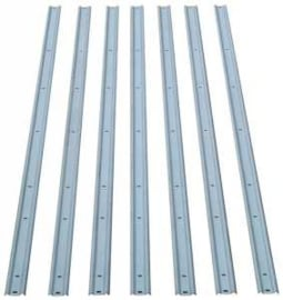 Bed strips set  --Stainless Staal -- 1957-59  Long-step 97""