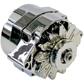 Chrome   Alternator 100 AMP