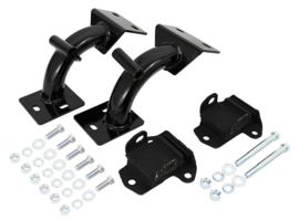 Chevy C10, C20 Truck Tubular Engine Mount Brackets, V-8