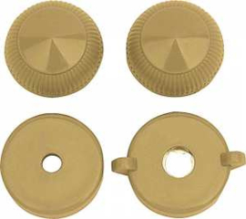 Radio Knob Set Tan 1947-53