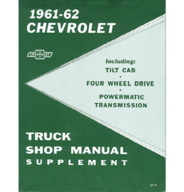 1962  Chevrolet Truck Shop Manual