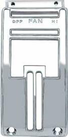 Heater Control Bezel  Chroom.  1955-59