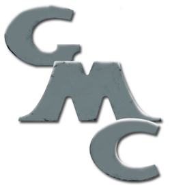 Achterklep letters, stikkers  Chrome  GMC  1947-53