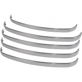 Grille Bar Stainless steel  Ford 1948-50