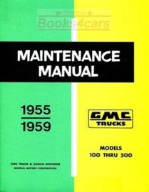 GMC Truck Shop Manual 1955-59