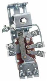 Koplamp schakelaar origineel  6 Volt .  1947-54