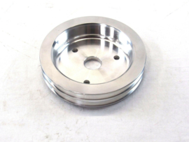 BBC Chevy 2 Groove Pulley SWP Crank Pulley