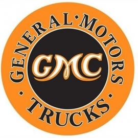 100-115.   GMC Trucks Tin Sign
