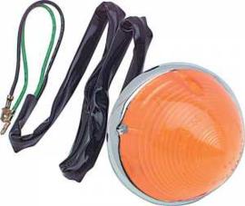 Parkeer Lamp.  1955-57  Amber lens