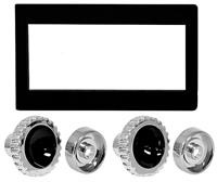 RADIO BEZEL & KNOB KIT 1960-63