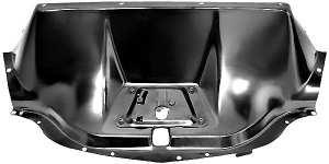 Motorkap Sluitplaat Chevrolet .  Geverfd. 1947-54