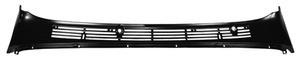 Wiper Cowl Panel  1967-72   Black.  ***