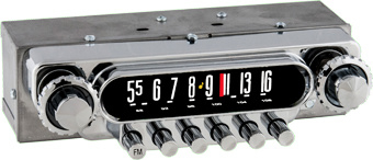 1949-50 Ford AM/FM Bluetooth® Radio.  1951-52  Truck