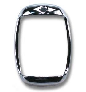Achterlamp Ring. Chroom.  1947-53