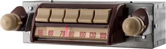 1947-53 GMC Truck AM/FM Bluetooth® Radio