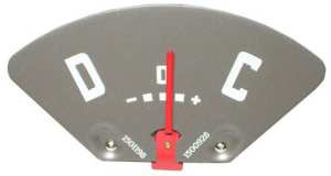 Ampere / Battery Meter . 1947-49