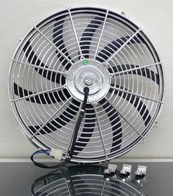 "REF-16C.       Electric Fan, 16"" Universal Super"