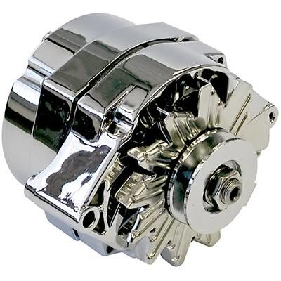 Chrome   Alternator 100 AMP